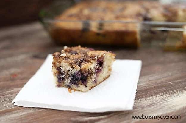 Blueberry Honey Bun Cake recipe