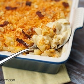 Jalapeno Bacon Macaroni and Cheese #recipe by bunsinmyoven.com
