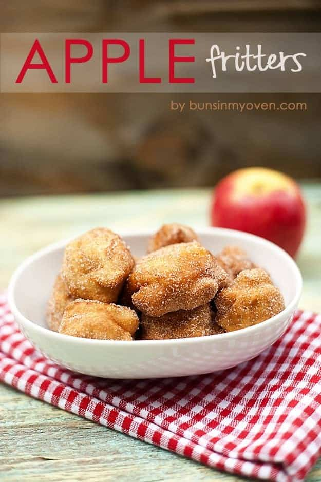 Apple Fritters recipe