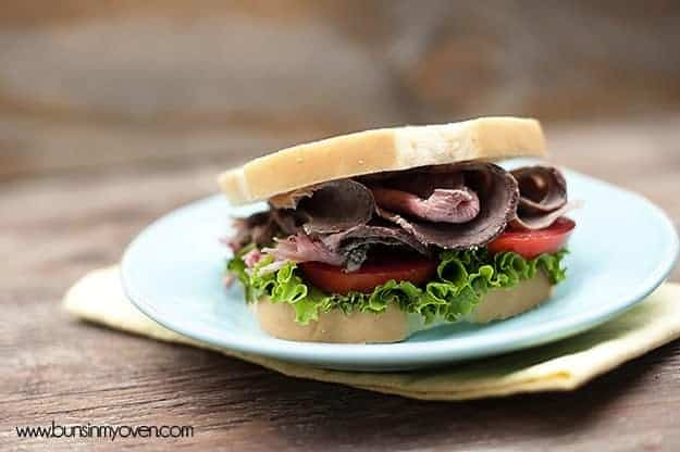 deli style roast beef