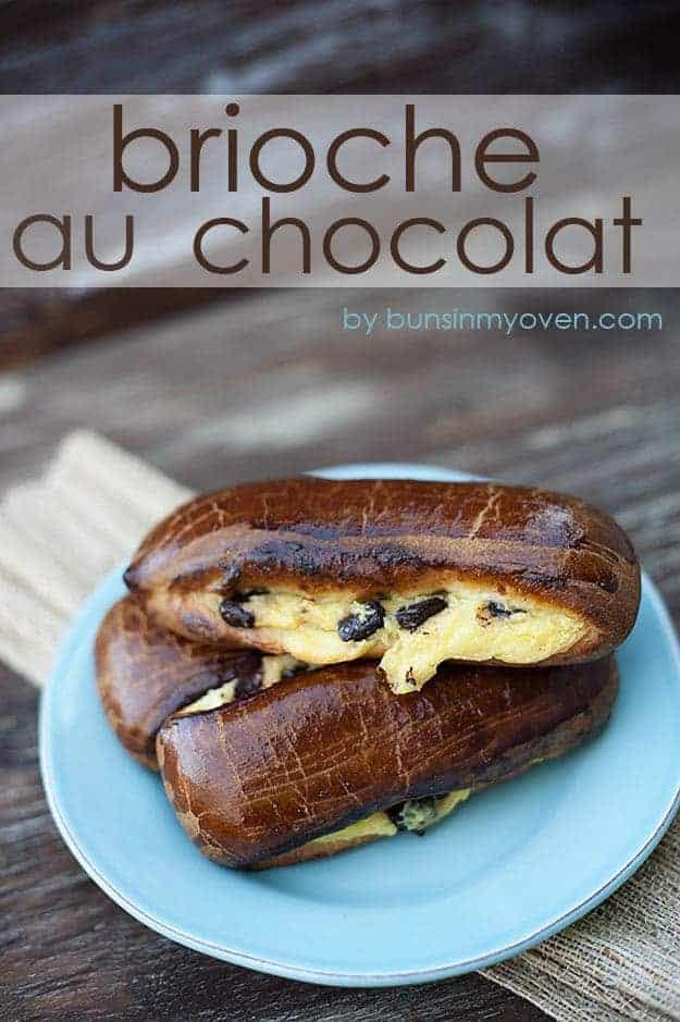 Brioche Au Chocolat recipe