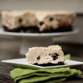 chocoalte peanut butter brownie cheesecake