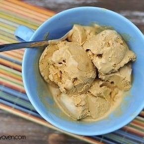 two ingredient caramel ice cream