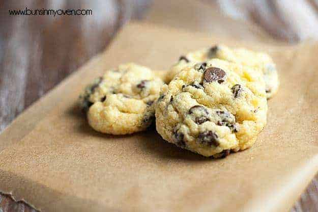Chocolate Chip Gooey Butter Cookies Buns In My Oven