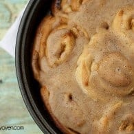 Cinnamon Roll #recipe with Browned Butter Icing by bunsinmyoven.com