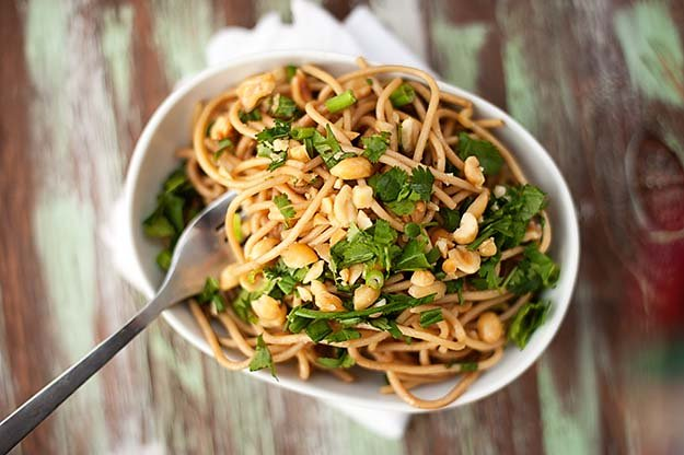 Spicy Thai Peanut Noodles recipe