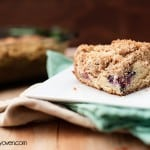 New York Style Blackberry Coffee Cake #recipe from bunsinmyoven.com