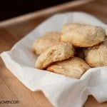 Only 4 ingredients in these easy 7 Up Biscuits from bunsinmyoven.com