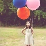 Balloons! So creative!