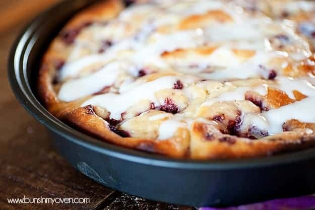 Raspberry Sweet Rolls recipe