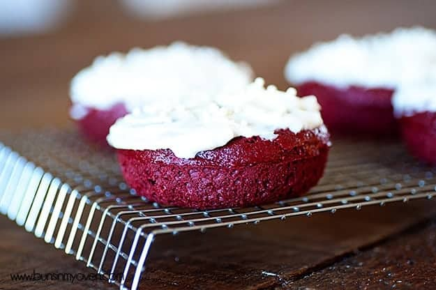 red velvet cake mix donut recipe for valentine's day