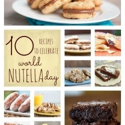 10 easy recipes full of Nutella from bunsinmyoven.com