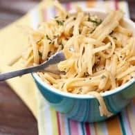 creamy garlic pasta recipe 1