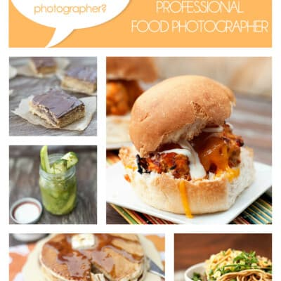 Several different foods in a photo collage of various food pictures.