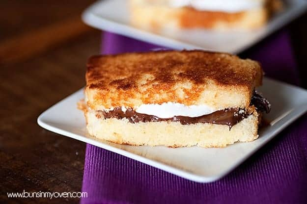 s'mores pound cake recipe