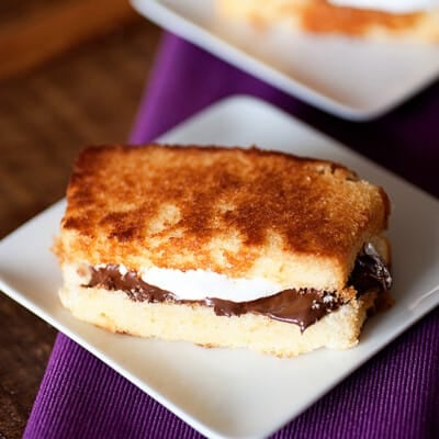 s'mores pound cake recipe