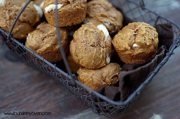 underexposed muffins