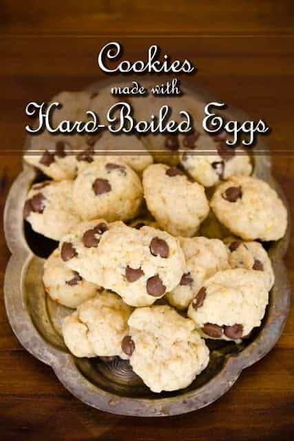 boiled egg cookies