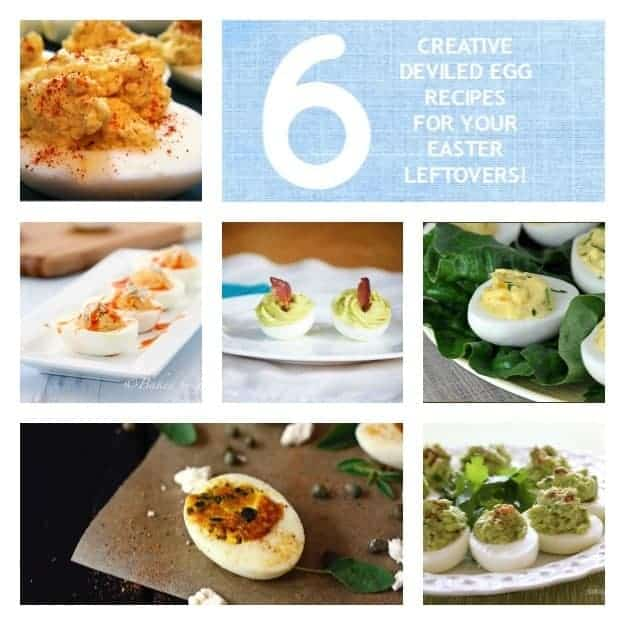 Six creative deviled egg recipes for leftover Easter eggs
