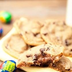 cadbury creme egg stuffed cookies recipe