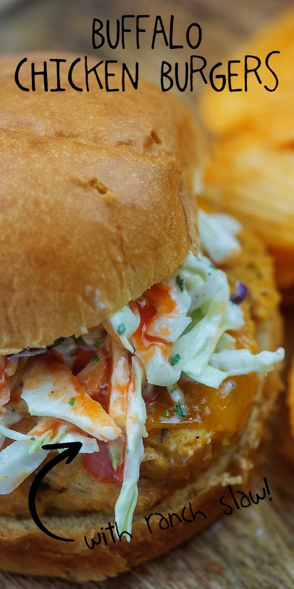 chicken sandwich recipe with slaw on top