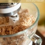 crockpot shredded freezer chicken