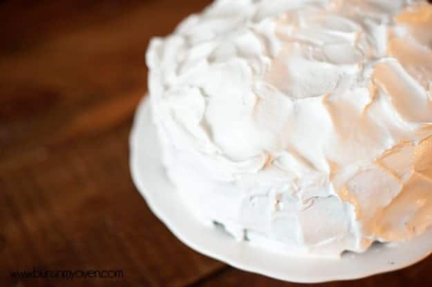 Simple Meringue Frosting recipe