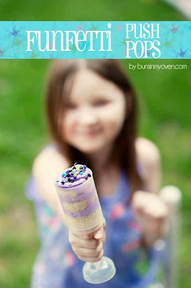 Funfetti Push Pops recipe