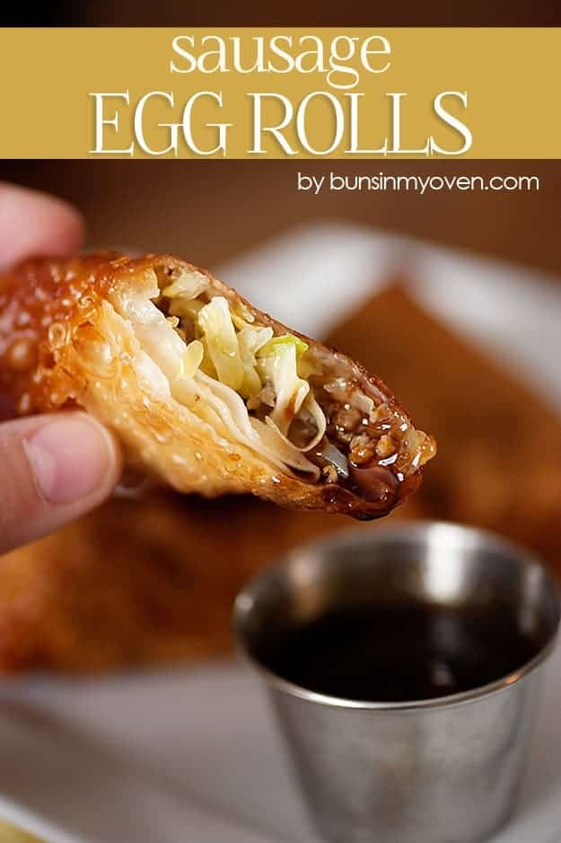 sausage egg rolll recipe