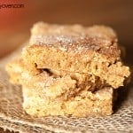 brown sugar snickerdoodle bars