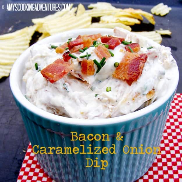 Bacon & Caramelized Onion Dip 2