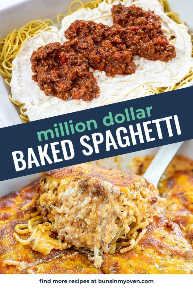 collage of million dollar spaghetti images.