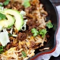 One Dish Dinner: Taco Skillet recipe