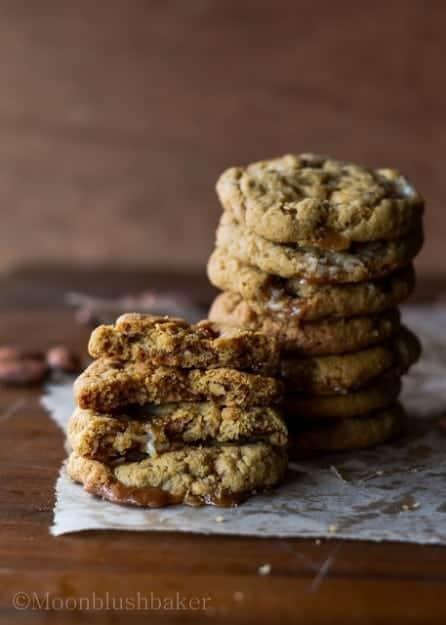 caramel cookies-1