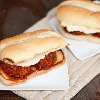 chicken parmesan meatball subs recipe