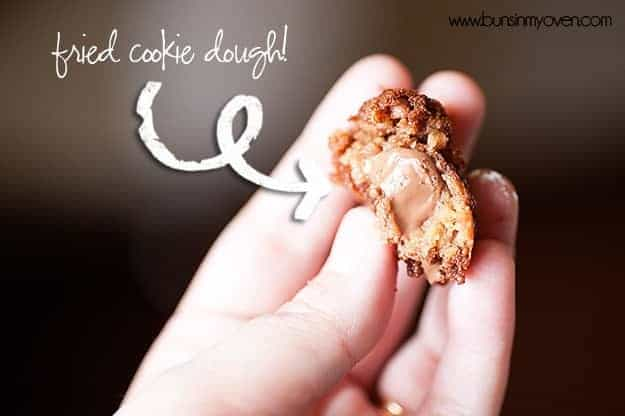Deep fried cookie dough recipe