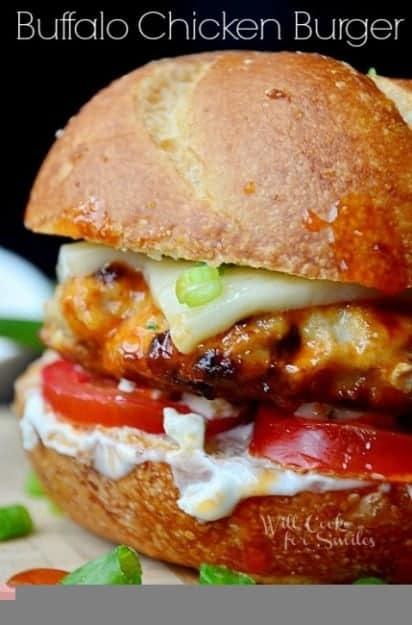 Buffalo-Chicken-Burger-1-willcookforsmiles-1.com_-429x650