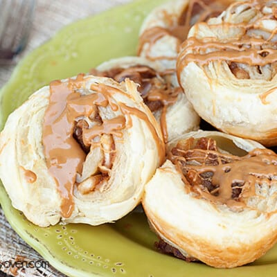 biscoff apple pie pinwheels recipe