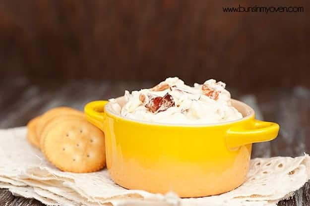 baked creamy parmesan bacon dip