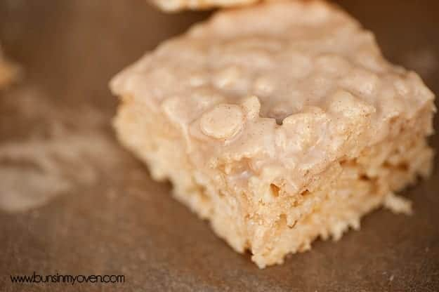 browned butter rice krispies treats 5