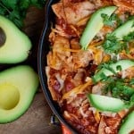chicken enchilada skillet recipe