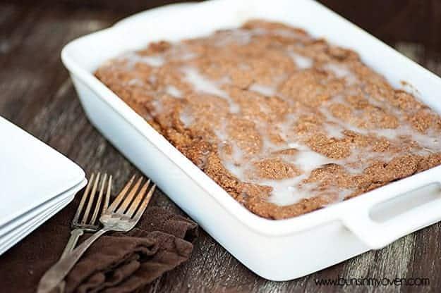 Bunsinmyoven Pumpkin Coffee Cake