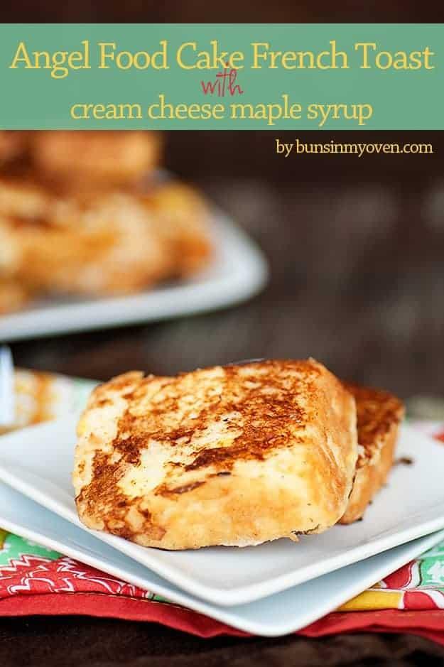 angel food cake french toast recipe