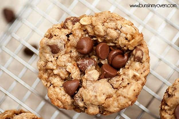 Browned Butter Oatmeal Cookie Cups #re