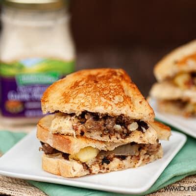 sausage hash sandwich recipe