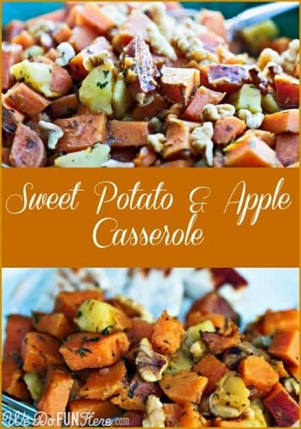 ... go on my list! Sweet Potato and Apple Casserole from We Do Fun Here