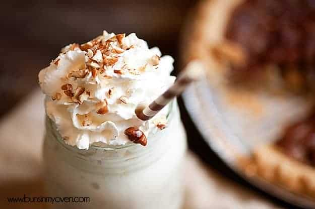 bourbon pecan pie milkshake recipe