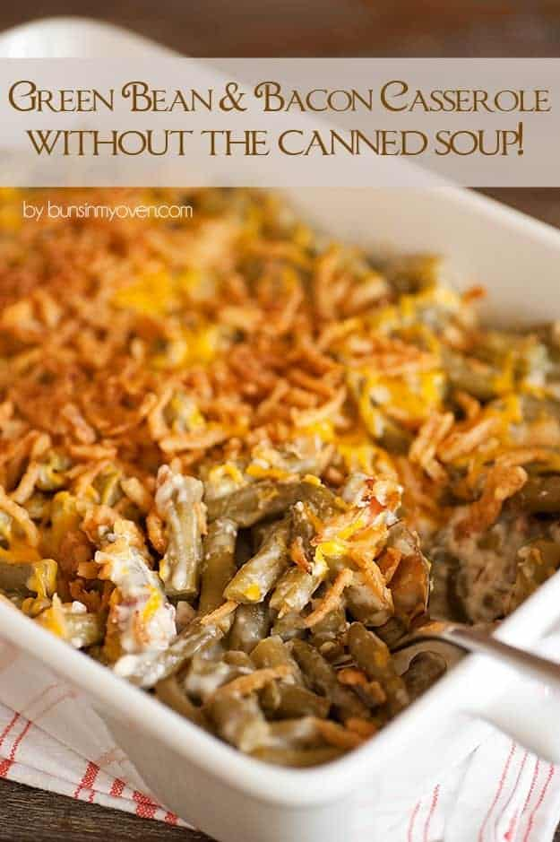 green bean casserole without canned cream of soup