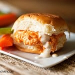 pulled buffalo chicken sandwiches recipe