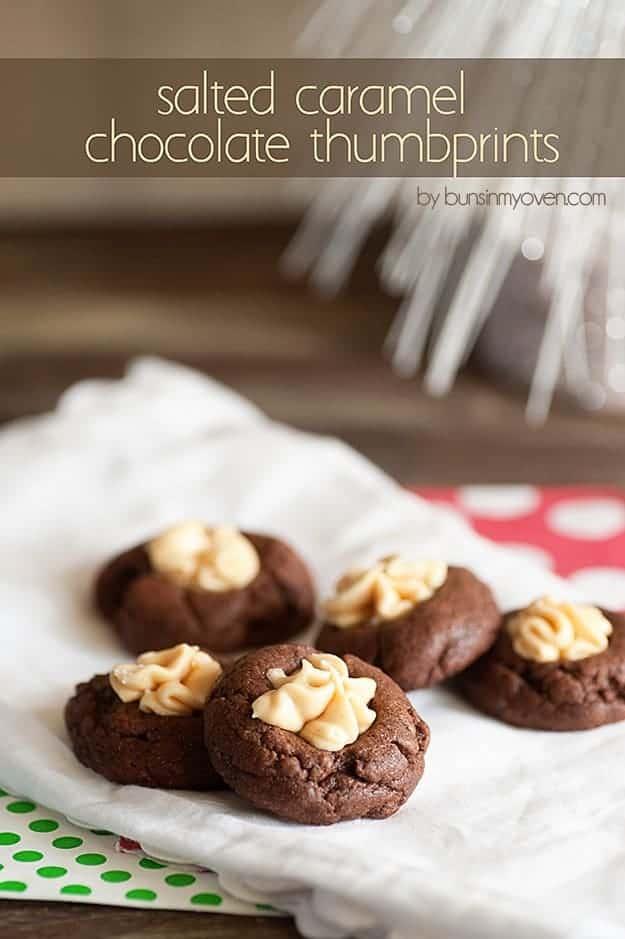 chocolate thumbprints 4